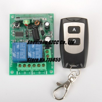 12V 2 CH RF Wireless Remote Control Switch system Radio Controller 315/433MZH Momentary/Toggle/Latched