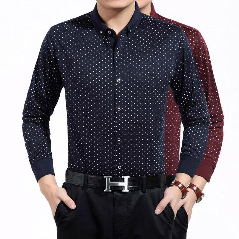 Men's Polka Dot Shirt
