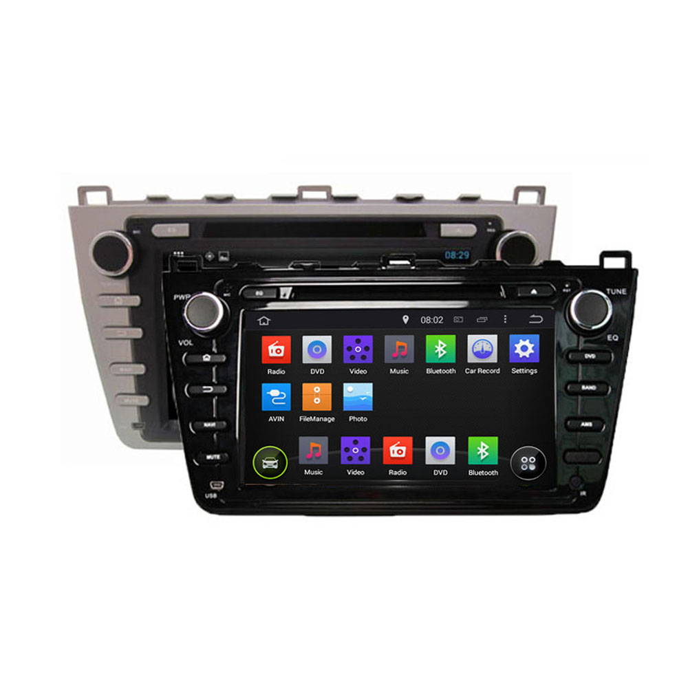 ROM 16G 1024*600 Quad Core Android 5.1.1 Fit MAZDA 6 , Ruiyi , Mazda6 Ultra 2008 2009 2010 2011 2012 Car DVD Player GPS Radio(China (Mainland))