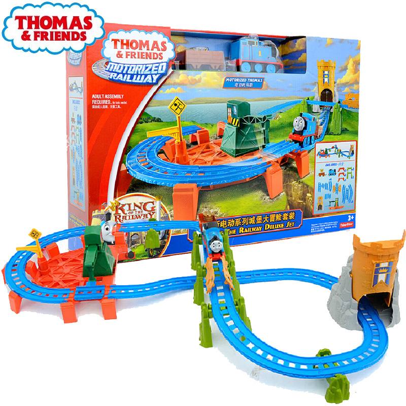 Thomas electric series Island Search and Rescue Center Set BGL99 electric rail toy Railroad Train toy kids toy gift