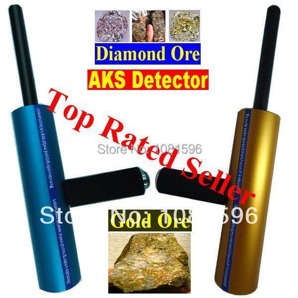Or détecteur Long Range diamants en or détecteur AKS 3D Metal Detector(China (Mainland))