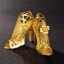 3D трехмерная головоломка поделки ручной работы туфли на высоком каблуке собраны металла модель для сборки творческие украшения дети diy наборов корабля casa(China (Mainland))