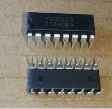 free shipping(10)YG2025 DIP16 speaker amplifier chip