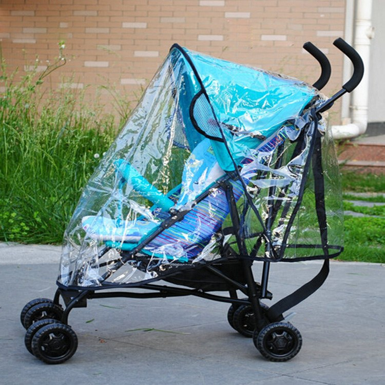 Free Shipping Hot New Breathable Baby Stroller Rain Cover Baby Car Windscreen Dust Cover For Stroller Rain Cover(China (Mainland))