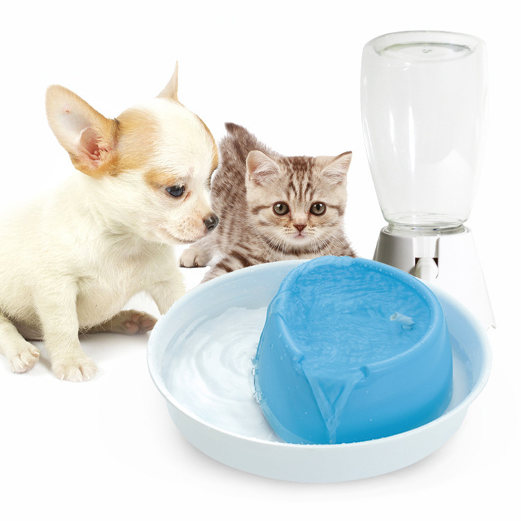 Pet cat dog fountain water dispenser drinking fountains cycle automatic pet Waterer water electric water cooler(China (Mainland))