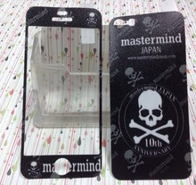Black skull Luxury Sticker for Iphone 5 5S SE Screen Protector iphone5 iphone5s iphoneSE smart phones cover film