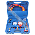 Refrigeration Air Conditioning freon adding gauge Car Maintenance Tools R134A Manifold Gauge Set