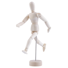 5.5'' Drawing Model Wooden Human Male Manikin Jointed Mannequin Puppet Hot Selling(China (Mainland))