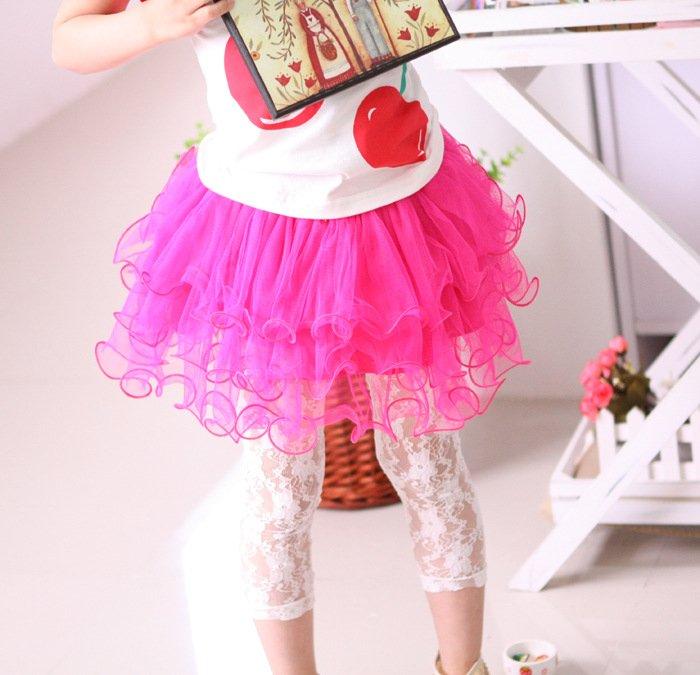 2012 new cute nice tutu mini white skirt for girls,children clothing,5 size 100-140 FREE SHIPPING<br><br>Aliexpress