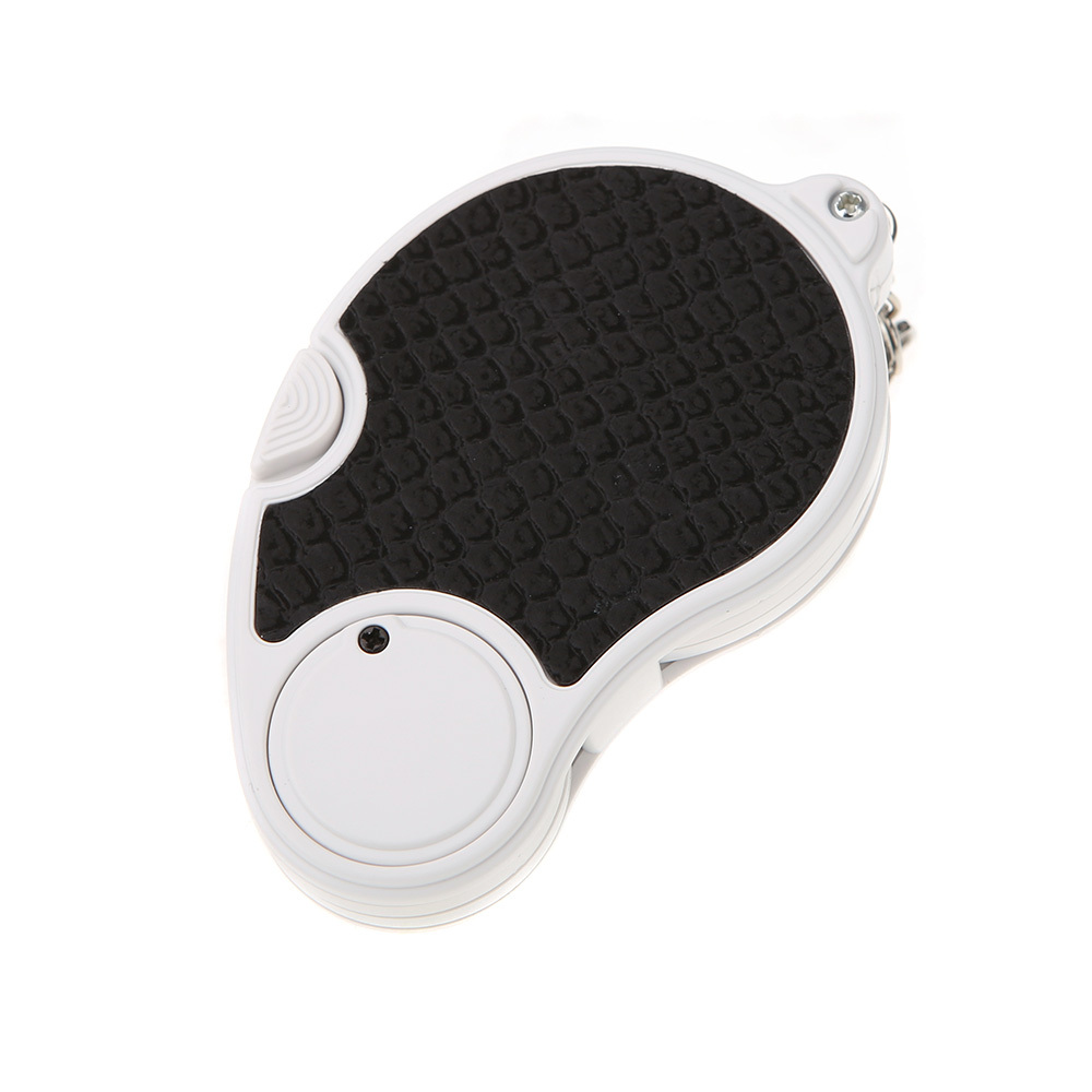 50pcs/lot wholesale New 5X 45mm LED Light Pocket Key Chain Foldable Jewelers Loupe Magnifier dhl free shipping<br><br>Aliexpress