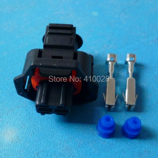 10sets waterproof  2 pin  For the Bosch diesel common rail injector pin connector with  terminal DJB7029Y-3.5-21<br><br>Aliexpress