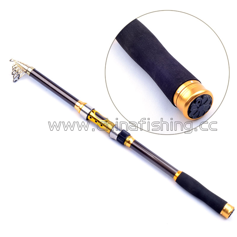 Buy top quanlity telescopic surf casting for Best telescoping fishing rod