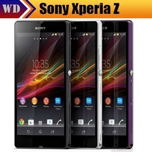 "riginal Sony Xperia Z L36h C6603 Cell phone 5.0"" Screen Quad-Core 2G RAM 16GB ROM 13.1MP NFC GPS Unlocked phone Free Shipping(China (Mainland))"