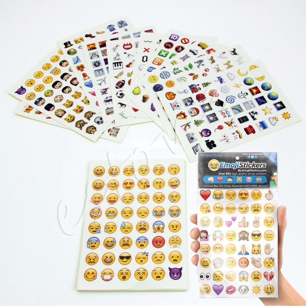 Emoji Sticker Pack 912 Die Cut Stickers For iP Twitter Large Viny Instagram