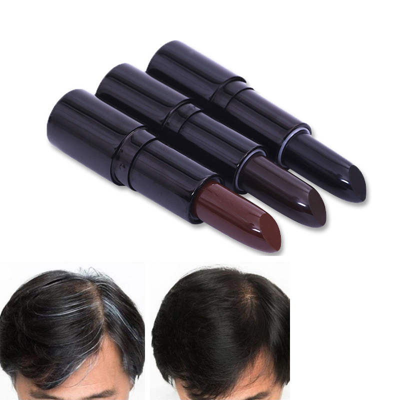 3 color Temporary Hair Dye Brand Hair Color Chalk Crayons Paint Hair Care Black/Dark brown/Coffee M02254(China (Mainland))