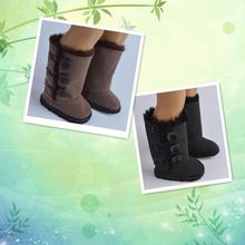 18 pulgadas Muñeca American Girl Zapatos Colores de La Mezcla de Nieve Botas Fit 18 pulgadas Muñecas de Regalo de Cumpleaños de la Navidad Para El Bebé(China (Mainland))