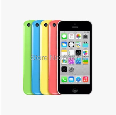 Мобильный телефон Apple iPhone 5C 3G 8MPix 4.0 16G 32G GSM WCDMA мобильный телефон 5c 100% iphone 5c ios 8 4 0 ips 8mp 1080 p 16 32 64 wifi 3g apple