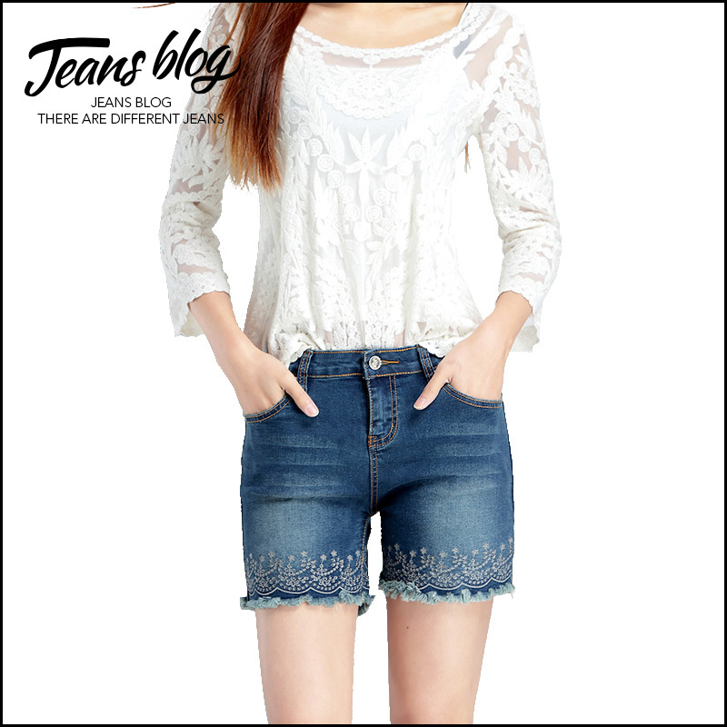 Original Aliexpresscom  Buy New 2015 Summer Denim Shorts Jeans Women Short Skinny Je