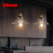 Loft rural pendant creative industry of lamps and lanterns wind restoring  restaurant bar counter DIY single head droplight(China (Mainland))
