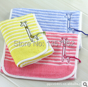 new cotton children's cartoon towel manufacturers embroidery small boy
