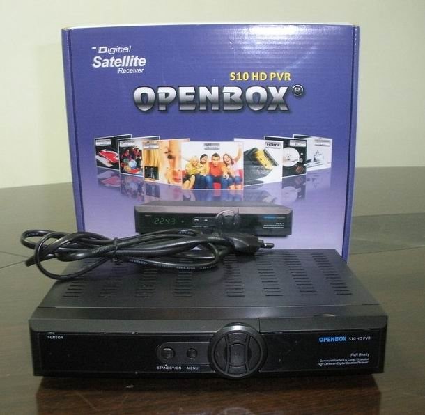 As Original openbox s10 hd pvr skybox s10 digital satellite receiver high definition- FTA box s10 HD freeshipping(China (Mainland))