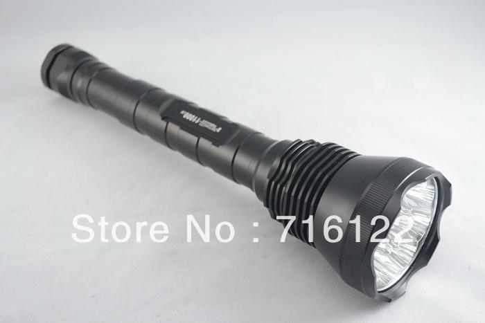 11000 Lumen Super Bright 9X CREE XML T6 LED Flashlight Torch, 5 Mode Waterproof Flash Light for Camping Hunting,<br><br>Aliexpress
