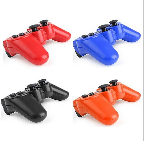 20X New More Color SIXAXIS Bluetooth Wireless Game Controller for PS3 or PC Free shpping Free Shipping(China (Mainland))