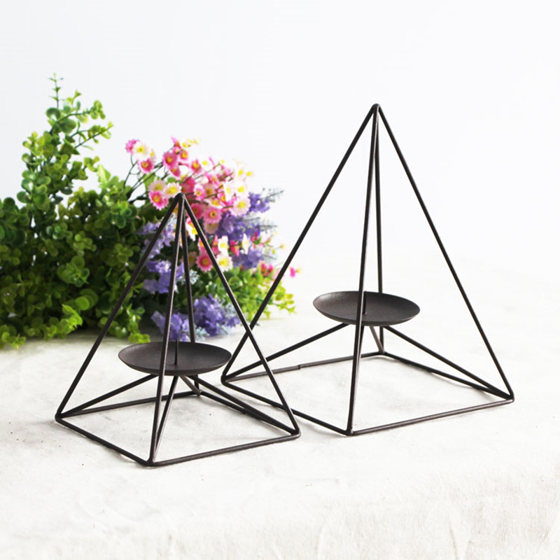 Iron Candlestick European minimalist home accessories retro fashion creative decorative wrought iron candle holders Decoration(China (Mainland))
