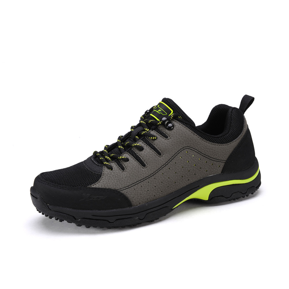 Xtep Men Outdoor Sports Trekking Shoes Breathable Hiking Climbing Sneakers Mountaineering Winter Travelling Boots 986219179068
