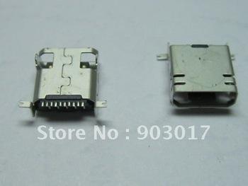 Mini USB 10 Pin Female Connector for SAMSUNG Use 100 pcs per lot