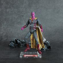 Poço de visita Avengers Alliance Herói Homem De Ferro Capitão América Black Widow Falcon Homem Aranha Homem Pantera Negra Formiga Boneca Bruxa(China)