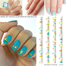 Beauty Nail Foil Decorations Tools Water Transfer Nail Art Water Stickers Birds Decals Stickers Nails Flowers Decals Wholesale