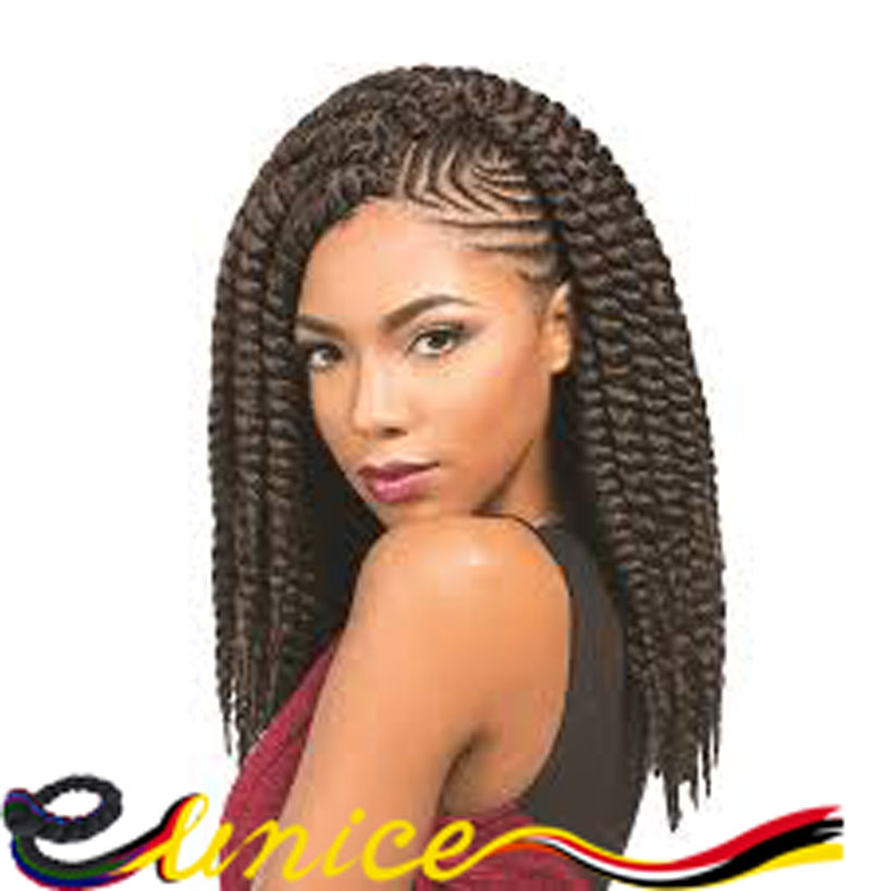 ... Mambo Twist Crochet Braiding Hair Extensions 6pcs Per Lot-in Bulk Hair