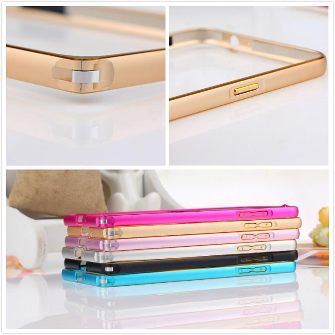 Metal Hard Bumper Frame For Samsung Galaxy A5 A5000 Ultra Thin Metal handset frame Hot Sales 6 Colors To Choose(China (Mainland))