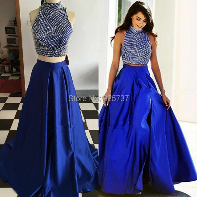 Images of Royal Blue Prom Dresses - Reikian