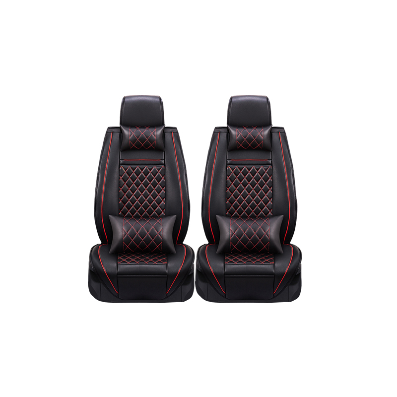 2 pcs Leather car seat covers For Daewoo Lanos Leganza Musso Nubira car accessories styling(China (Mainland))