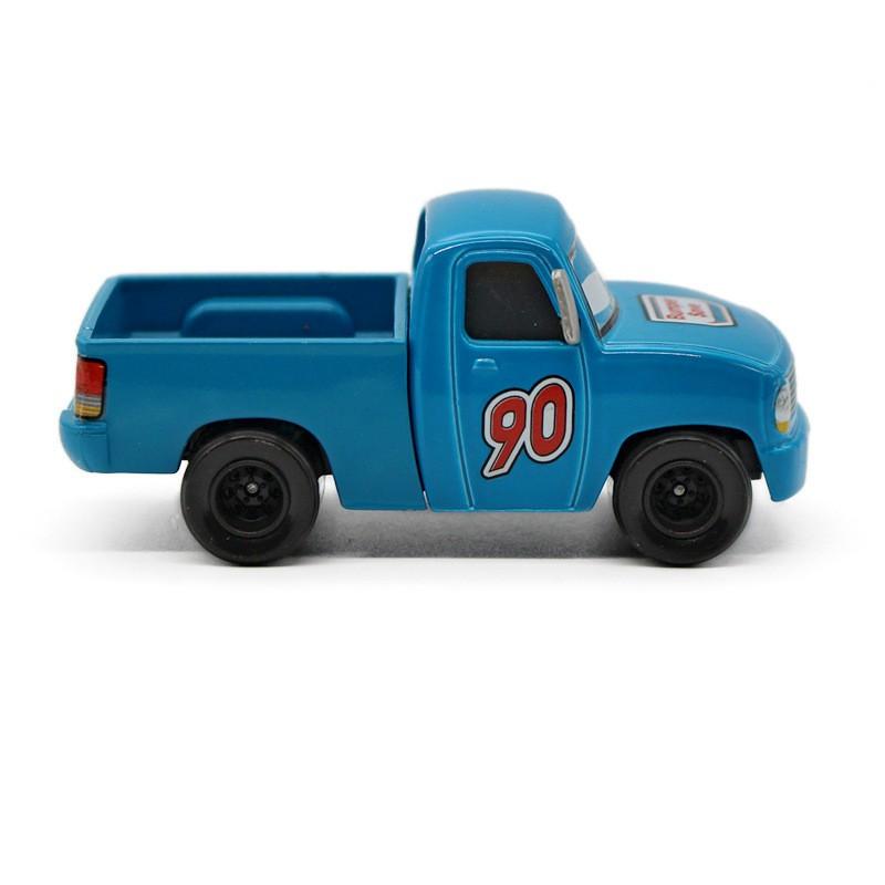"Disney Pixar Automobiles 2 Blue NO.90 ""Bumper Save ""Pickup Truck Cartoon Film Mannequin Metallic Diecast Toy Automobile 1:55  Alloy Automobile Child Present"
