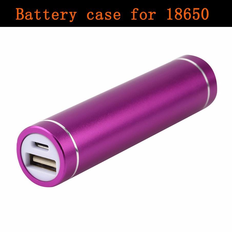 image for Mini USB 5V Mobile Power Bank Charger Pack Box Battery Case For 18650