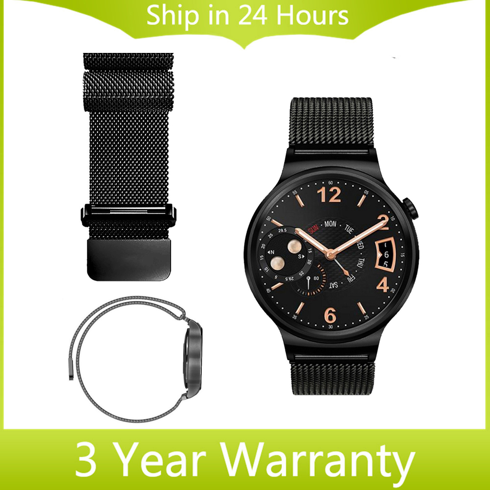 18mm Milanese Loop Band for Huawei Watch Strap Magnetic Closure Watchand Stainless Steel Belt Wrist Bracelet + Quick Release Pin(China (Mainland))