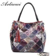 Multi Functional Classic Snake Grain Pattern 100% Genuine Leather Fashion Women's Real Cowhide Crossbody Bag Handbags B1232(China (Mainland))