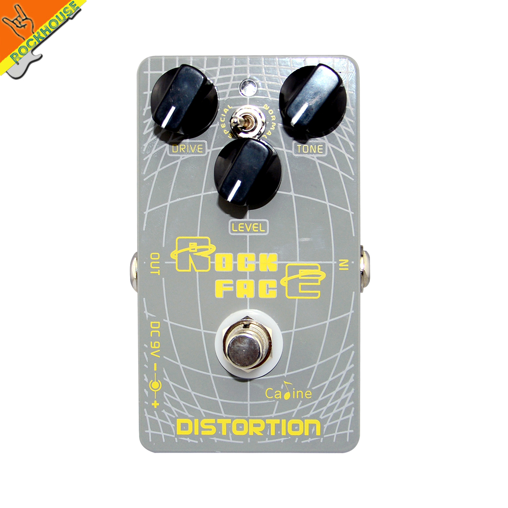 Caline Distortion guitar effect pedal distortion vintage tube distortion from low-gain to high-power stompbox true bypass