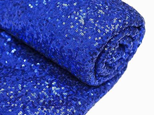 1 DAY SHIP Blue Sequin Table Runner 48''*72'' Sequin TableCloth Royal Blue Sequin Table Cloths Sequin Linens(China (Mainland))
