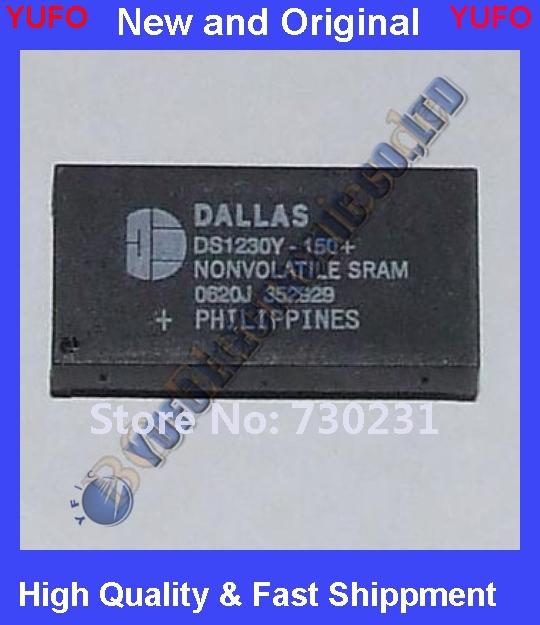 Free Shipping 1 x DS1230Y-150+ NVRAM, NVSRAM, Parallel, 5V Supply Vol Dallas Se DIP-28 1pcs(China (Mainland))
