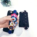 Cute Hand Belt Case For Iphone 6 6s 6 Plus 6s Plus Case Luxury Daisy Flowers