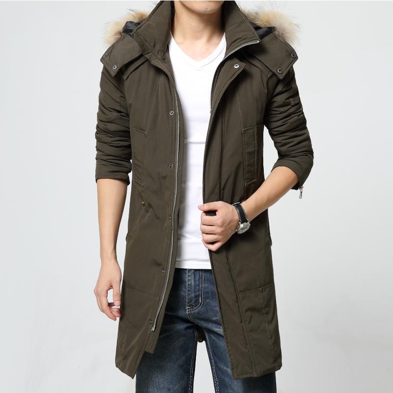 Popular Long Fur Hood Mens Jacket-Buy Cheap Long Fur Hood Mens ...