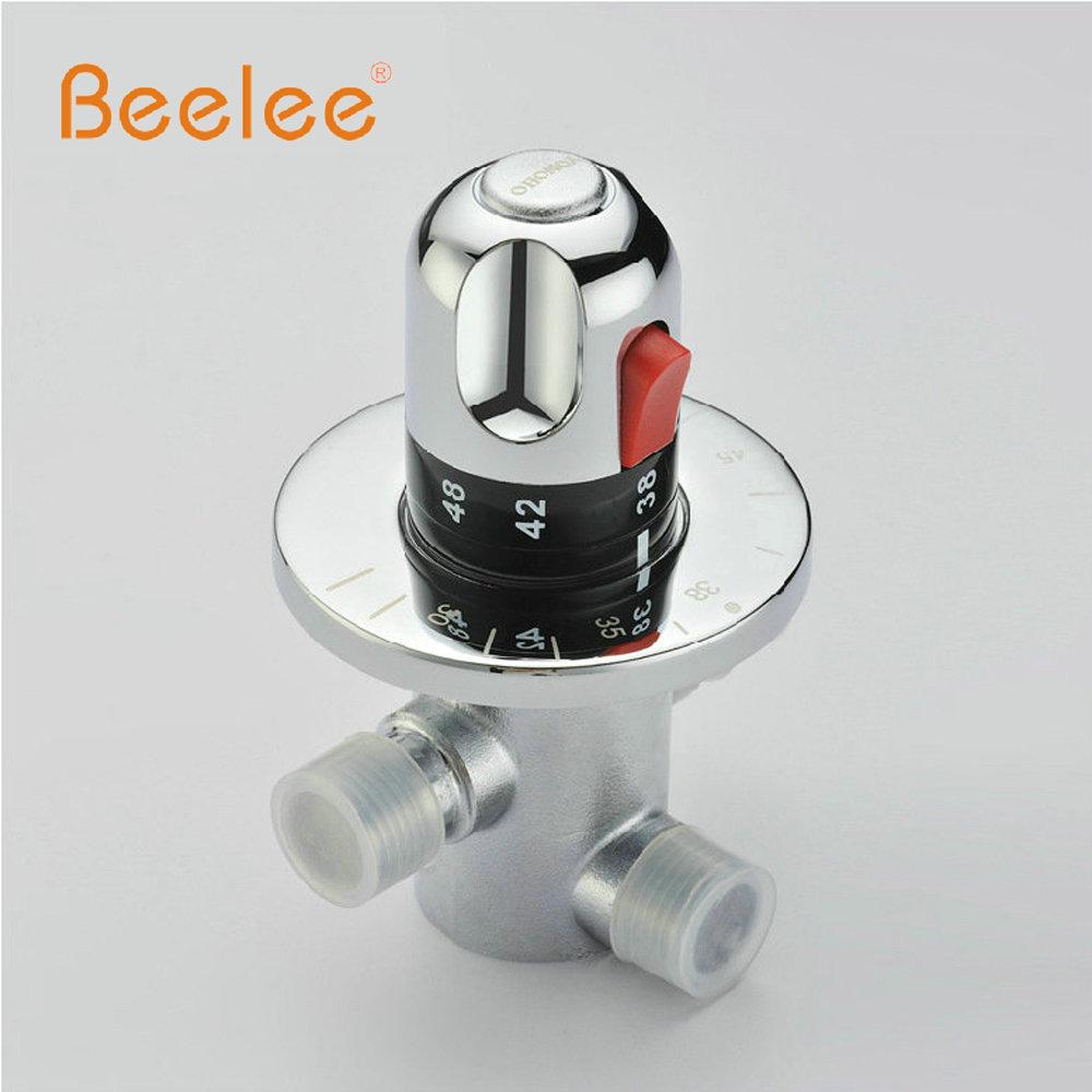 Free Shipping BL0211D (G1/2) Brass Thermostatic Valve, Water Temperature Thermostatic Mixer Valve,thermostatic shower valve(China (Mainland))