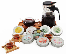 tea High Quality Chinese Organic Seven Mix Good Tastes Promotion puer Health Food Compressed Mini Round