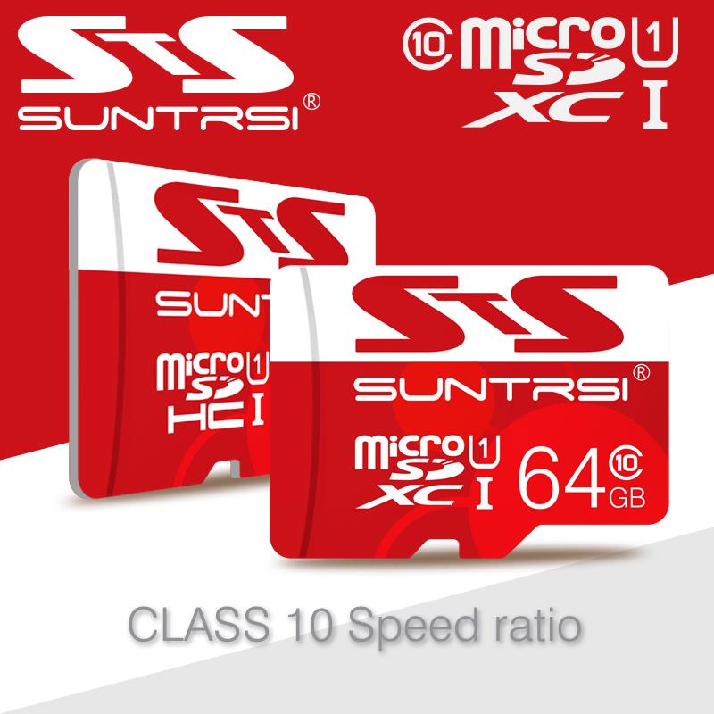 Whole Sale Price Suntrsi Memory Card Real Capacity Micro SD Card 64GB 32GB 16GB 8GB Microsd Micro SD Card Class 10 Free Shipping(China (Mainland))
