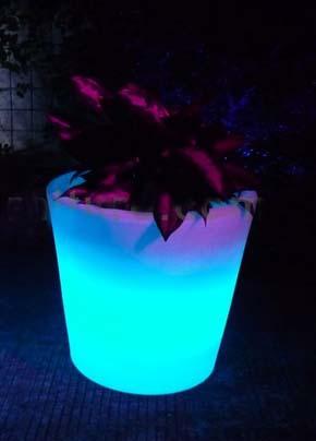 outdoor garden light Solar Flower Pot Lights Led Planter Lamp garden landscape Vase lighting Yard Home Lantern Christmas(China (Mainland))