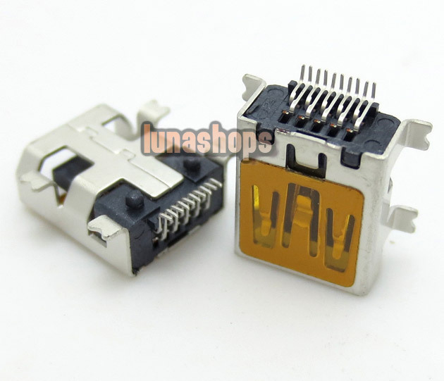 U023 Repair Parts Mini USB Data charger port Adapter For Android Tablet Mobile 10pin LN003761